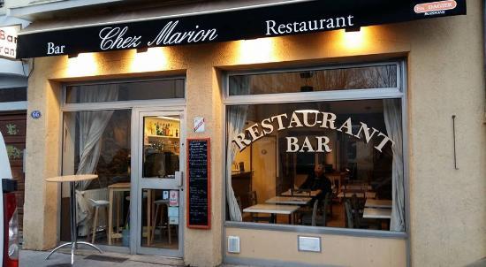 Facade De Restaurant chez marion, villeurbanne - 66 cours de la republique - restaurant