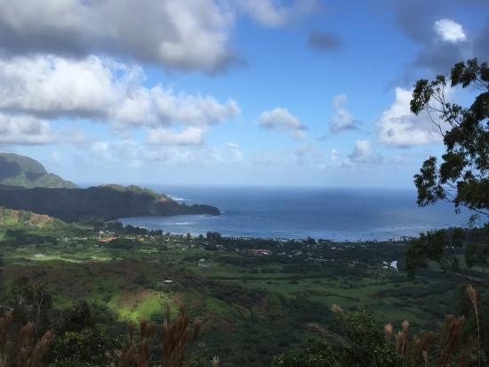 Hike Kauai With Me : Hike View of Hanalei Bay