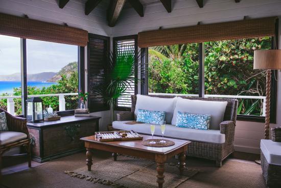 Guana Island : Sea View Cottage
