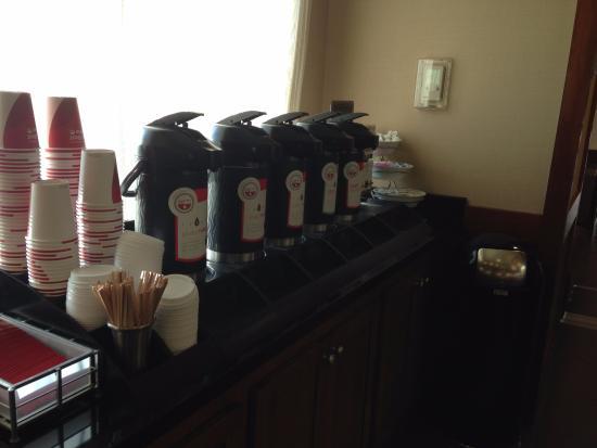 Englewood, CO: Breakfast-coffee selections