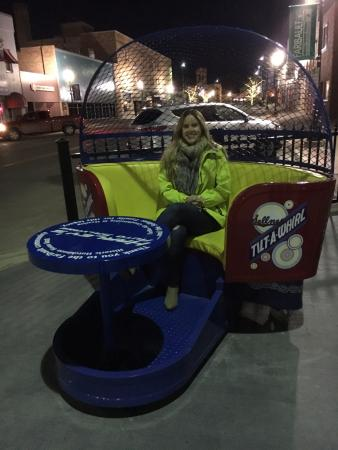 Historic Hutchinson House B&B: The Tilt-A-Whirl in downtown Faribault!