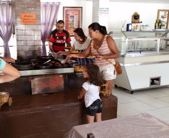 Fervedouro, MG: Buffet