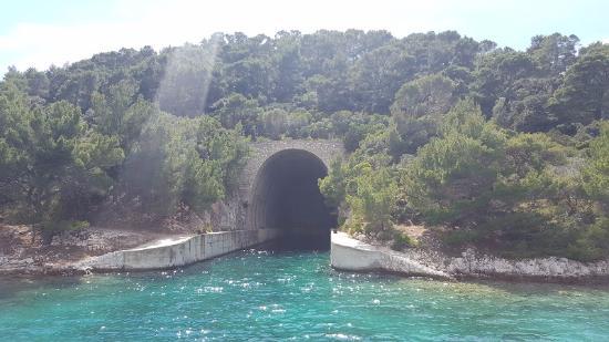 Lastovo Island, Croatia: Versteck für Kriegsschiffe