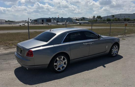 Rent A Silver Rolls Royce Ghost In Miami Beach Fort Lauderdale Or - Rolls royce rental fort lauderdale