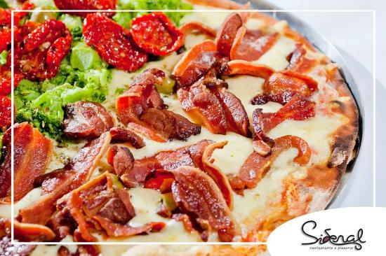 Sideral Restaurante & Pizzaria : Pizza de bacon