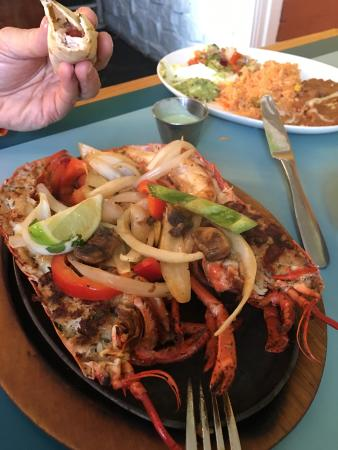 Thornburg, VA: Lobster fajitas!!!