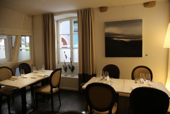 colmar restaurant l 39 atelier du peintre vue d 39 une des. Black Bedroom Furniture Sets. Home Design Ideas
