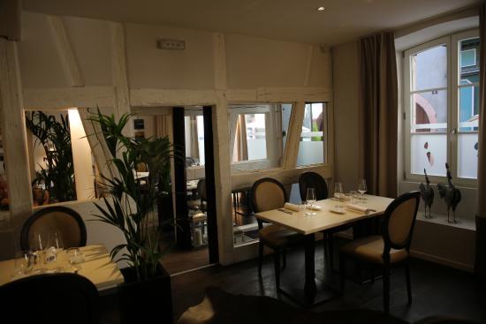 colmar restaurant l 39 atelier du peintre vue sur la salle. Black Bedroom Furniture Sets. Home Design Ideas