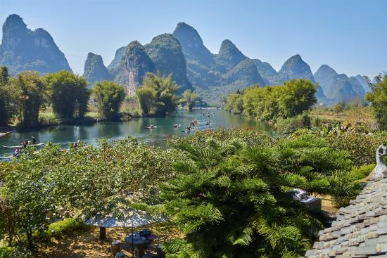 Balcony view - Yangshuo Mountain Retreat