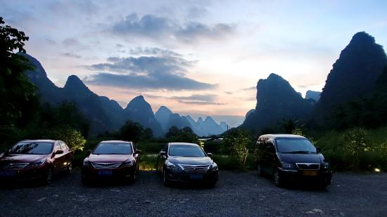 Car park - Yangshuo Mountain Retreat