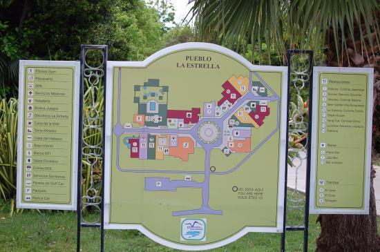 Map of the Market  Picture of Valentin Perla Blanca Cayo Santa