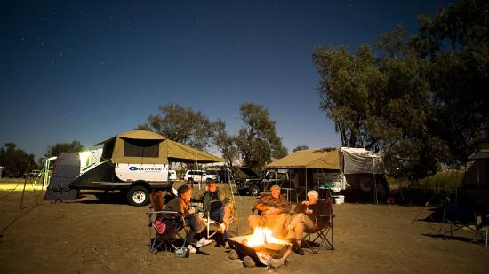 Camping in Birdsville