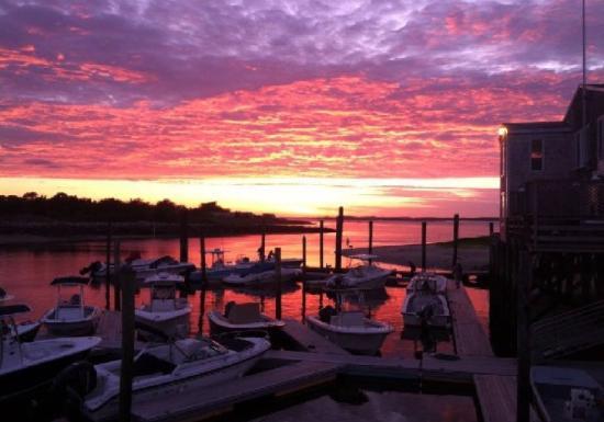 Mattakeese Wharf: Sunset