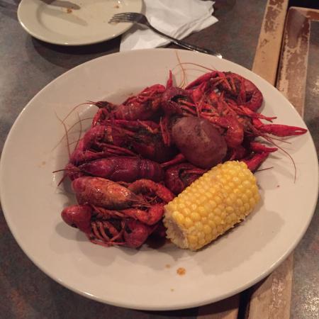 Big Fish Seafood Grill & Bar: Comida