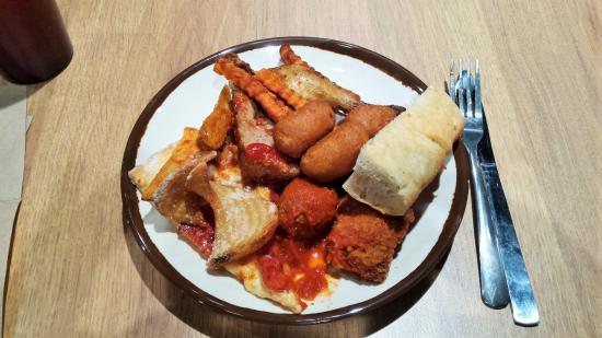 Μπάριε, Καναδάς: Hot foods