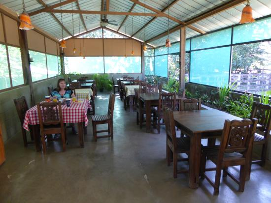 Rancho Curubande' Lodge: Dining area
