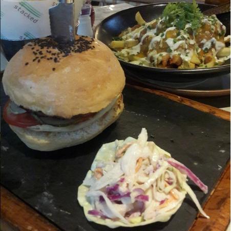Food - Stacked Burger Samui Photo