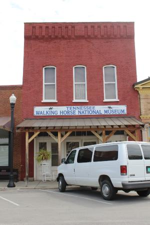 Wartrace, TN: The entrance to the Tennessee Walking Horse Museum