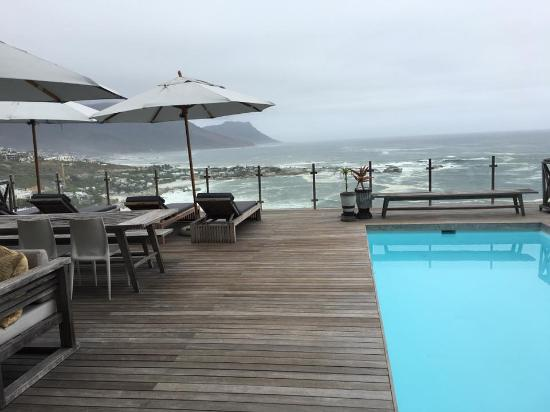 Clifton, Zuid-Afrika: Pool deck