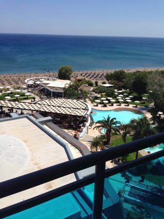 Hotel Calypso : Geweldig uitzicht.