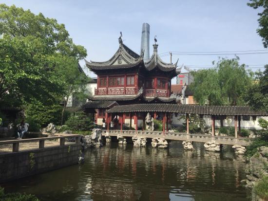 Yu Garden (Yuyuan): Living Quarters, Inner Garden