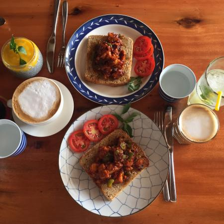 A cozy and beautiful place with awesome vegan and for Awesome cuisine categories vegetarian