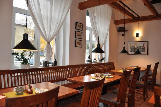 Restaurant Gourmet: Interiér restaurace Gourmet