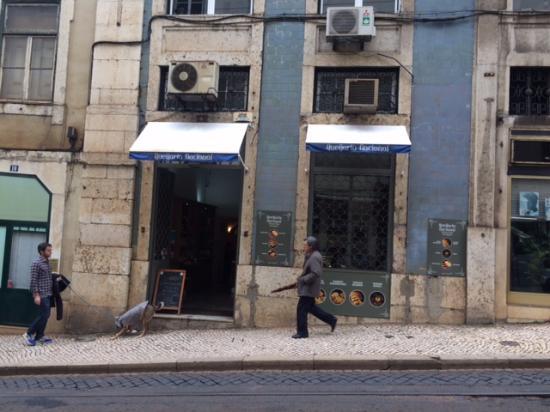 Queijaria shop front