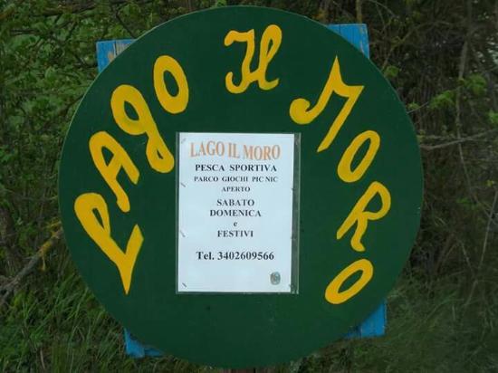 San Rocco a Pilli, Italia: Lago tranquillo ambiente familiare come a Casa spazzi per pic-inc e giochi.