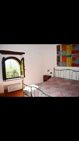 Castello di Gaiche: Bedroom with beautiful views