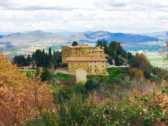 Castello di Gaiche: Views of Castle Gaiche