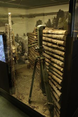 Kuopio Museum: war exhibition