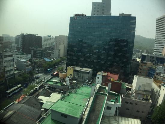 triple room small but cozy picture of stay b hotel myeongdong rh tripadvisor com