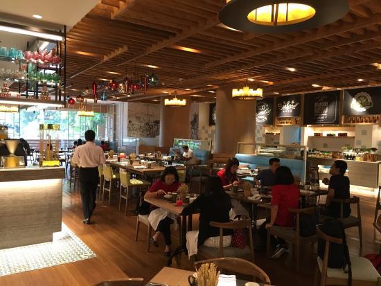 Excellent Breakfast Variety Picture Of Dusit Thani Manila Makati Tripadvisor