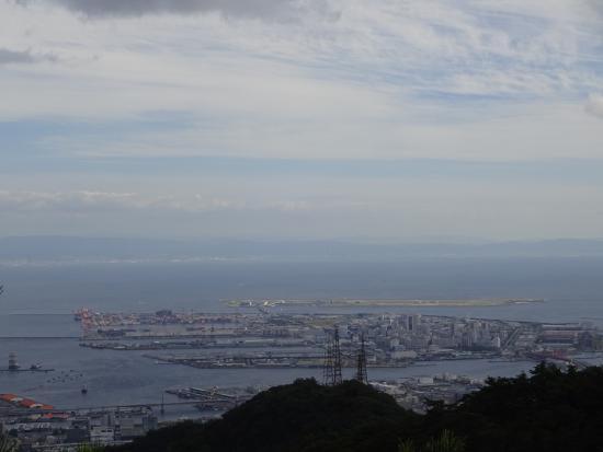 Kobe, Giappone: vue sur le port