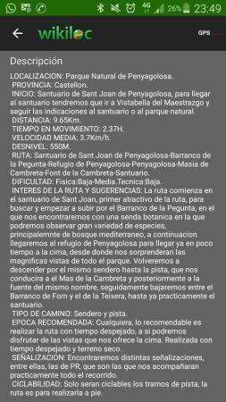 Vistabella del Maestrazgo, España: Screenshot_2016-05-06-23-49-36_large.jpg