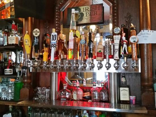 Murphy's Hotel : Nice beer selection...