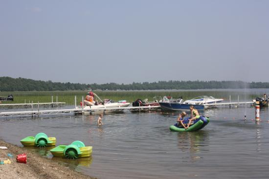 Ponsford, MN: Sandy beach and weed free swim area