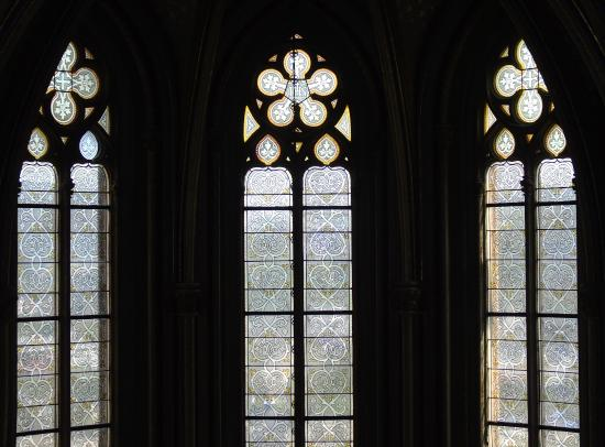 Stolzenfels castle: windows in the chappel - Picture of Schloss ...