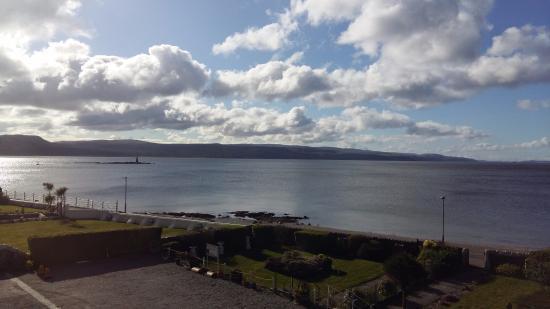 St. Ives Hotel : Sicht aus der Lounge