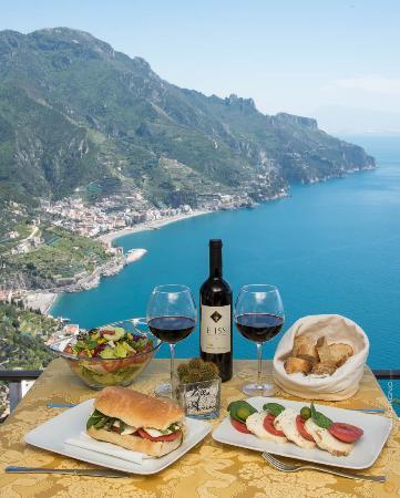 Villa Amore: light lunch in terrazza