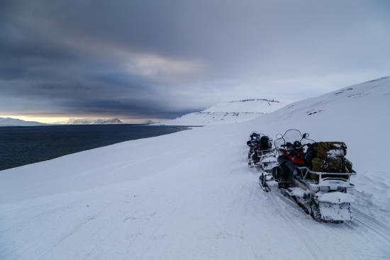 Longyearbyen, Noruega: On our way to Barentsburg