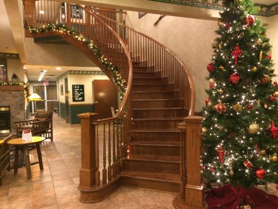 Big Stone Gap, VA: hotel lobby