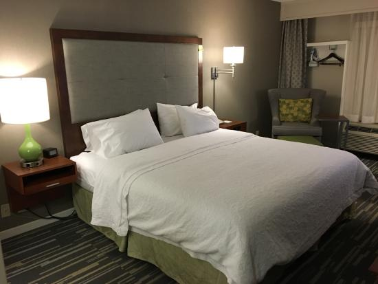 Hampton Inn Charlottesville: King room