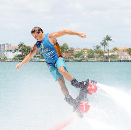 ‪‪Port Saint Lucie‬, فلوريدا: flyboard in Club Med Sandpiper Bay Florida‬
