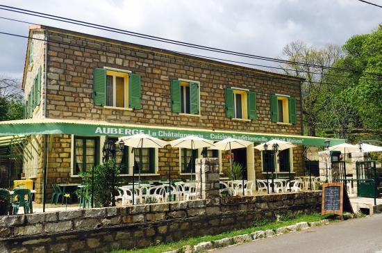 Auberge de village restaurant La chataigneraie