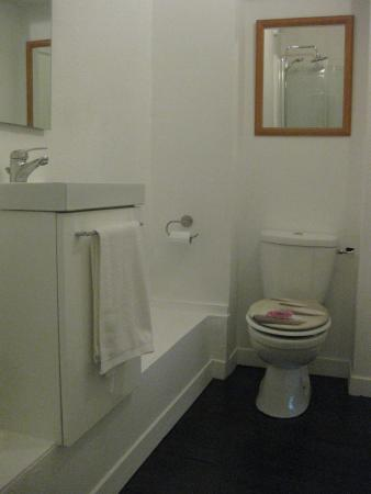 Bussière-Poitevine, France : The super ensuite bathroom to our lovely 'Limoges' bedroom