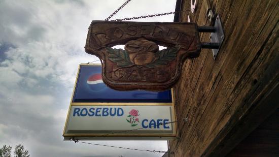 Absarokee, MT: Rosebud Cafe