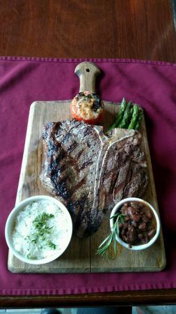 Sheraton Tarrytown Hotel: Cow Boy Steak
