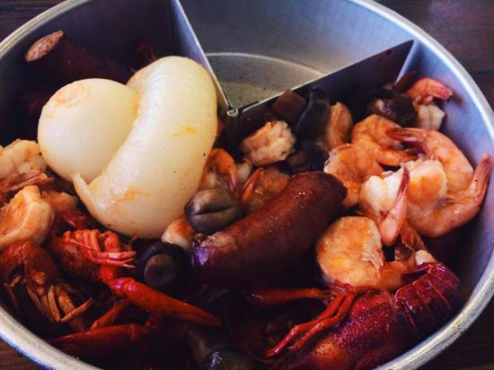 Hook and Boil: Cajun combo!